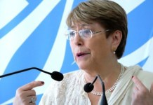Michelle Bachelet valora la liberación de presos políticos en Venezuela