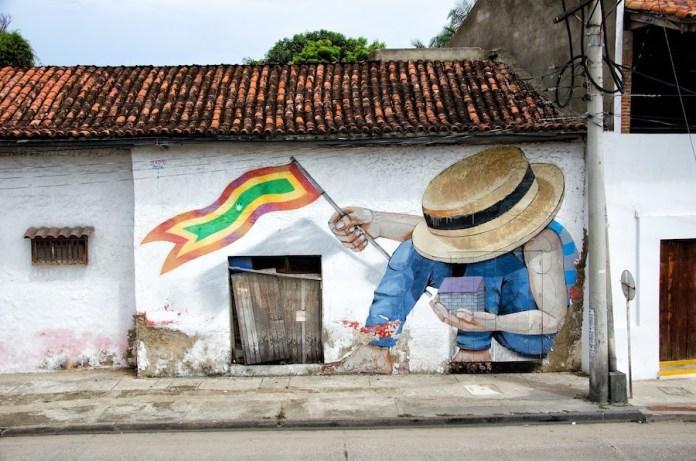 Cartagena de Indias grafitis
