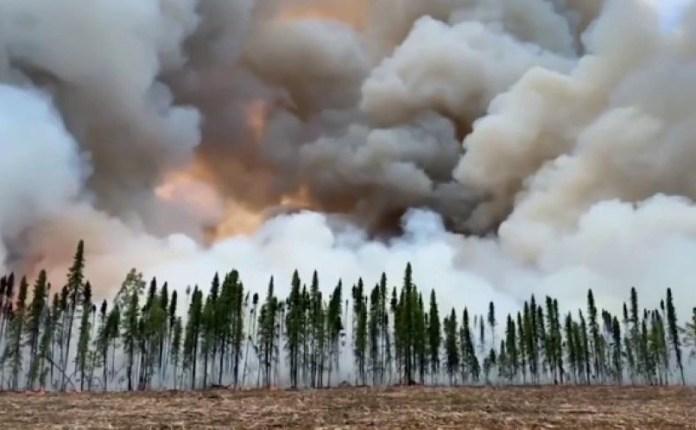 incendio forestal Alaska