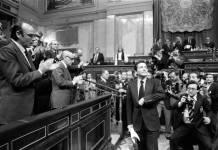 Investidura de Adolfo Suárez, marzo 1979