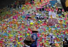 Muros de Lennon en Hong Kong