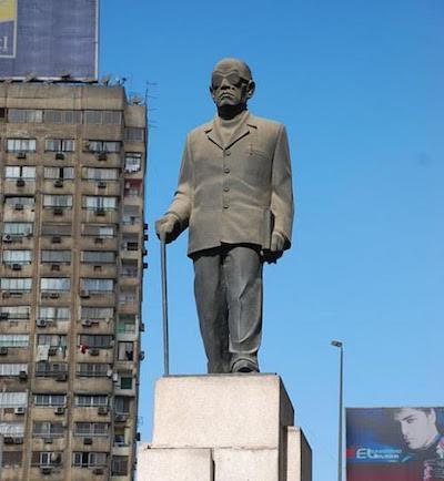Naguib Mahfuz monumento El Cairo