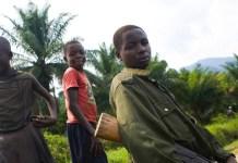ONU/Marie Frechon: Niños soldado de las Fuerzas Democráticas de Liberación de Rwanda