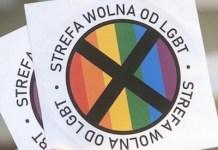 Polonia: pegatinas anti LGTB