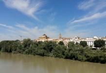 Córdoba: Sotos de la Albolafia con la Mezquita al fondo