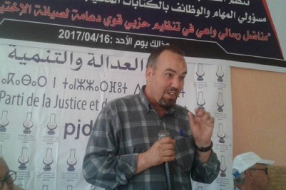 El senador del PJD, Ali El Asri.