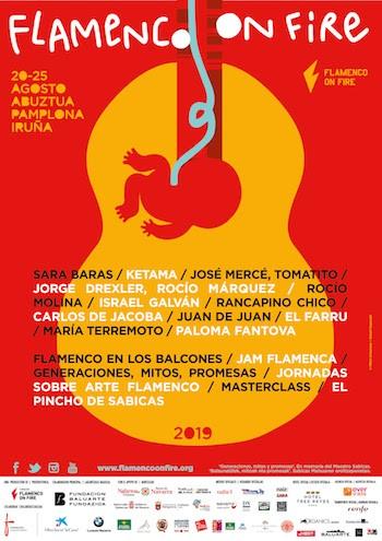 FOF Flamenco on Fire cartel