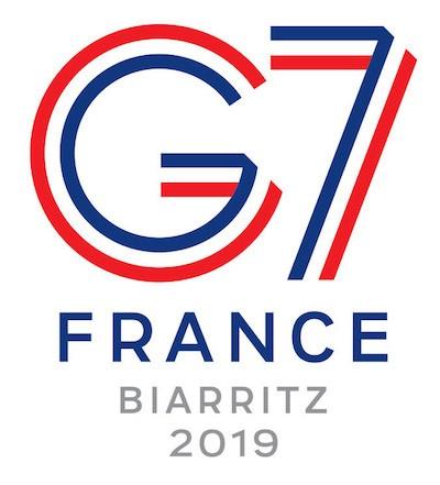 G7 Biarritz logo