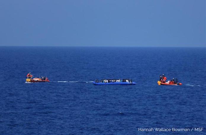 MSF Ocean Viking 11AGO2019 rescate