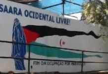 Mural solidario con el Sahara en Portugal