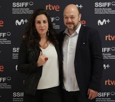 Paula Hernández y Luis Ziembrowski por Alex Abril