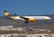 Thomas Cook avion