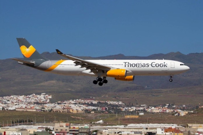 Thomas Cook avion