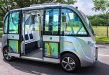Vehículo sin conductor Singapur 2020