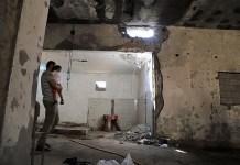 Una casa destrozada en el barrio de Souq al-Joumaa, Tripoli / Amnesty International