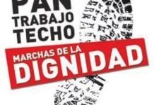 Marchas de la dignidad cartel