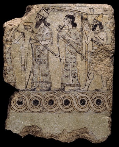 Lujo azulejo asirio