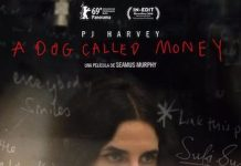 PJ Harvey A dog called money poster