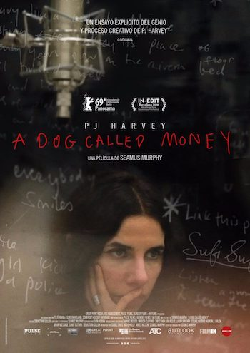 PJ Harvey A dog called money poster