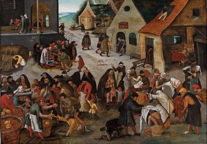 Brueghel Las 7 obras de misericordia