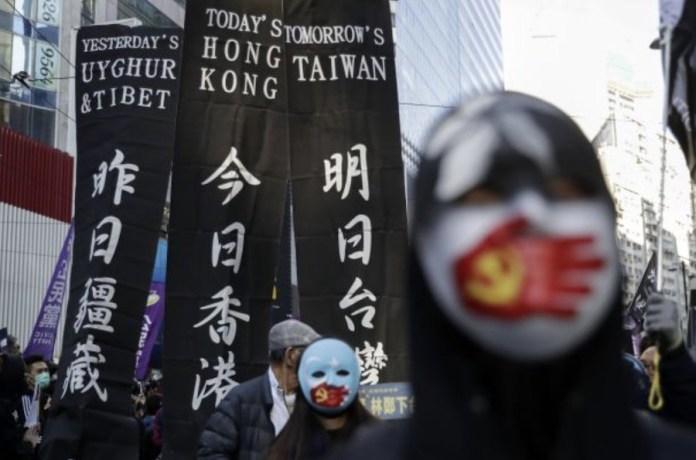 Hong Kong protestas 8DIC2019