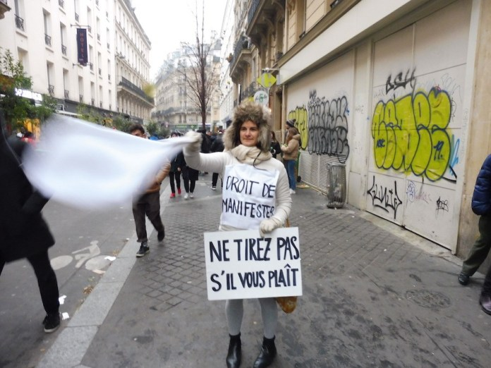 Julio Feo: los manifestantes también han reclamado en París este 5 de diciembre de 2019 el derecho de protesta pacífico