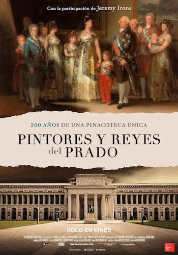 Pintores y reyes del Prado cartel