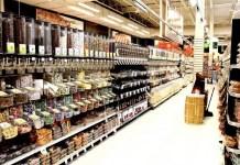 Supermercado estantería