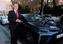 El Presidente de Canarias, Ángel Víctor Torres, se desplaza a la Cumbre del Clima de Madrid en un Toyota Mirai de hidrógeno