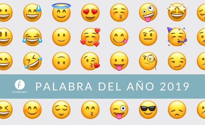 emoticones emojis palabra año 2019
