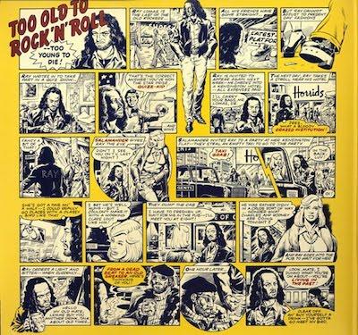 rocanrol David Gibbons comic