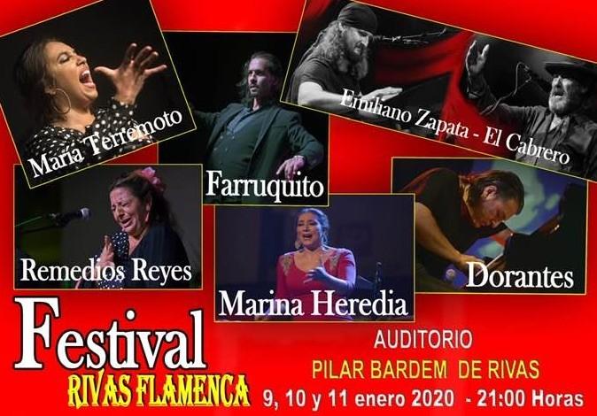 Festival Rivas Flamenca cartel