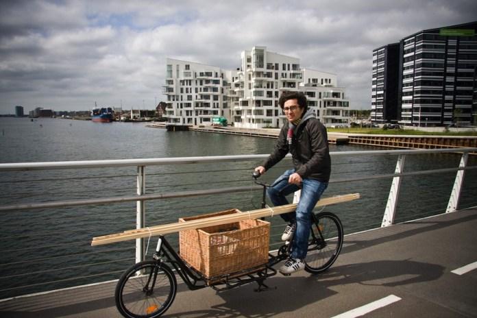 Bicicleta de carpintero en Copenague