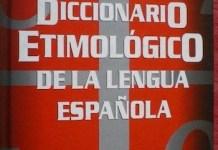Diccionario etimológico de Guido Gómez de Silva