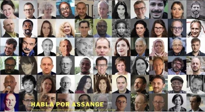 Habla por Assange campaña