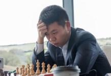 El ajedrecista chino Wang Hao