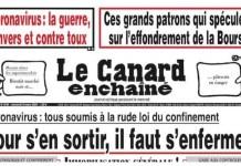 Francia Canard Enchainé especuladores