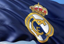 Real madrid CF bandera