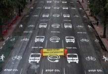 Greenpeace nueva movilidad urbana