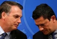 Jair Bolsonaro y Sergio Moro Brasil