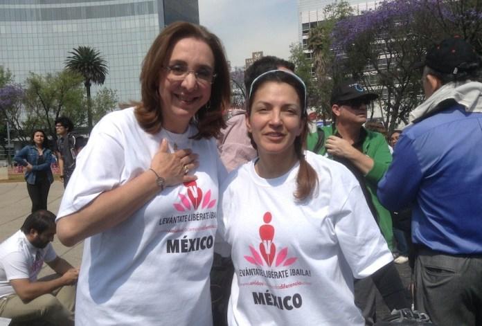 Rosi Orozco junto a Norma Bastida, una de las víctima de trata que, hoy, vive libre y feliz