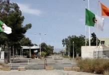 Puesto fronterizo cerrado entre Argelia y Marruecos