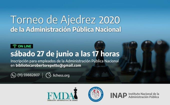 Argentina ajedrez torneo 2020