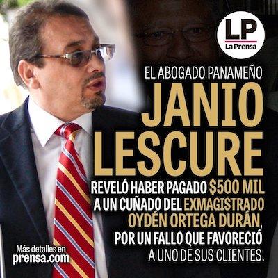 Lescure La Prensa Panamá