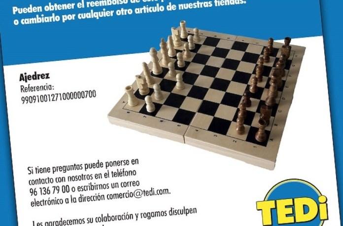 ajedrez Tedi
