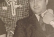 Fangio y Adiranita Bianco, archivo personal