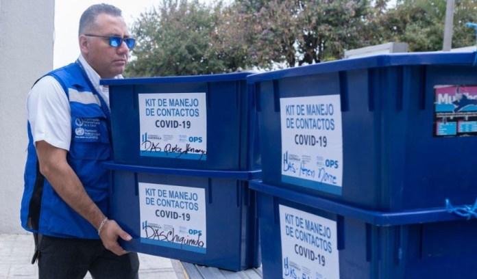 La OPS ha donado a Guatemala pruebas para detectar el coronavirus