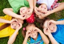 niños gafas agudeza visual óptica