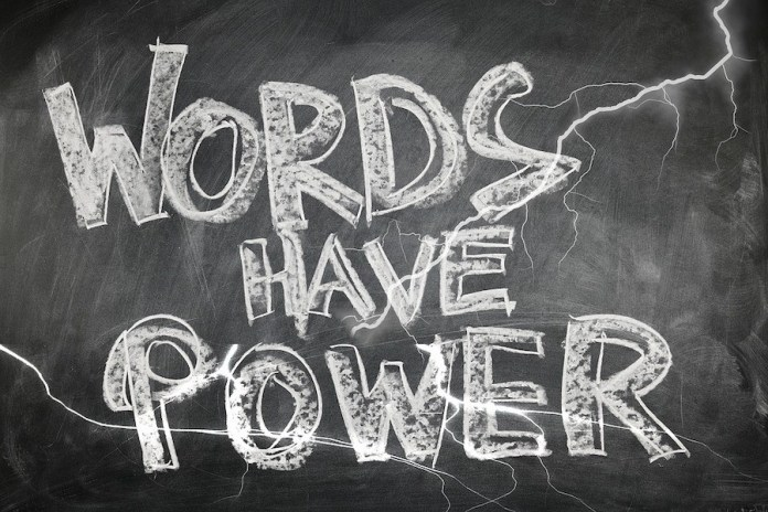 El poder de las palabras