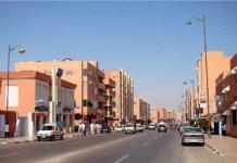 Vista de una calle de El Aaiún